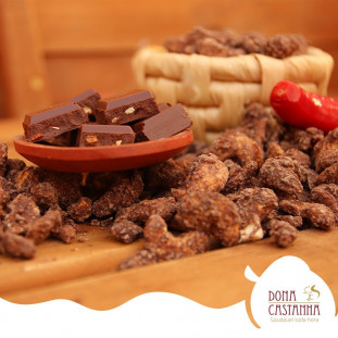 Castanha de Caju Chocolate com Pimenta 400g