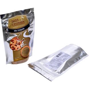 Mix de Nozes e Castanhas Salgado 100g - Premium (Sem Uva Passa)