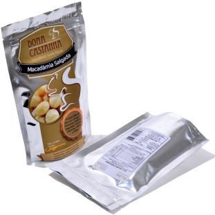 Macadâmia Salgada Premium 100g