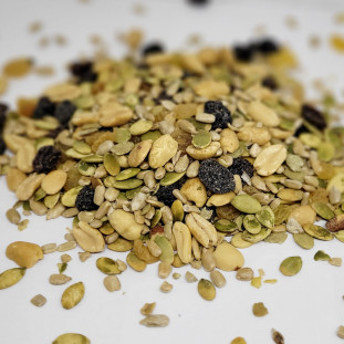 Mix de Sementes Salgadas com Amendoim e Passas 160g